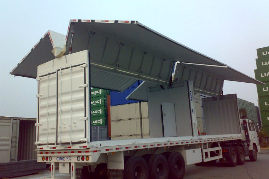 Windspan container