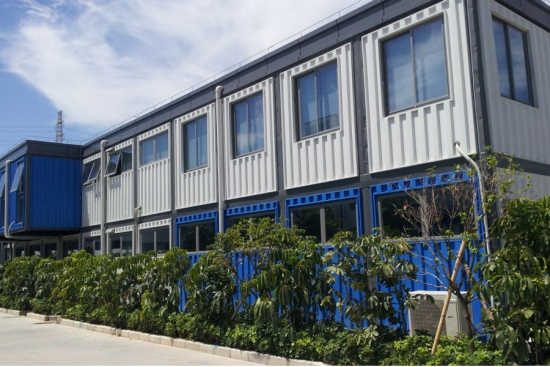 prefabricated container authority office