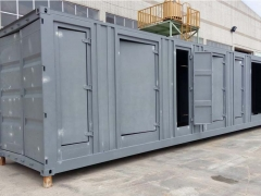 container electrical transformer housing