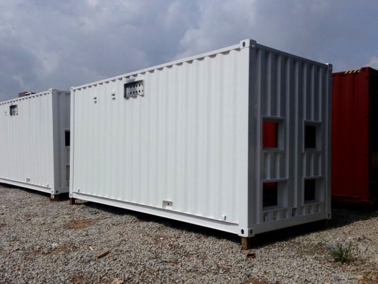 containerized generator unit