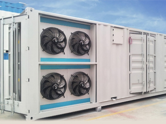 Industrial air conditioning module