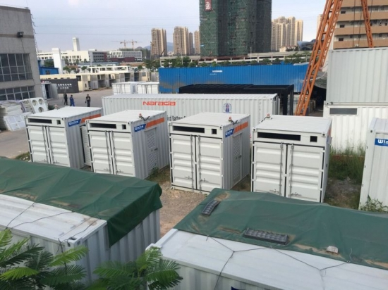 10ft photovoltaic inverter container