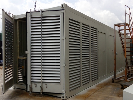 modular container data center