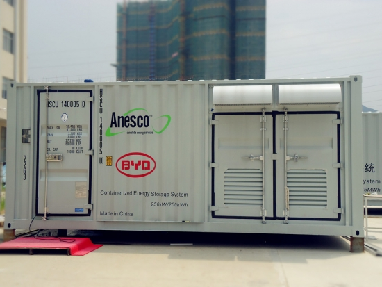 lead acid battery energy storage system container