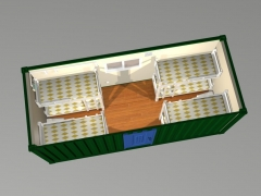 prefabricated container dormitory