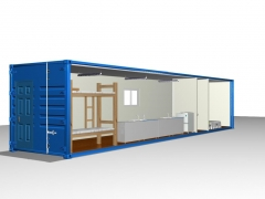 2 person accommodation container